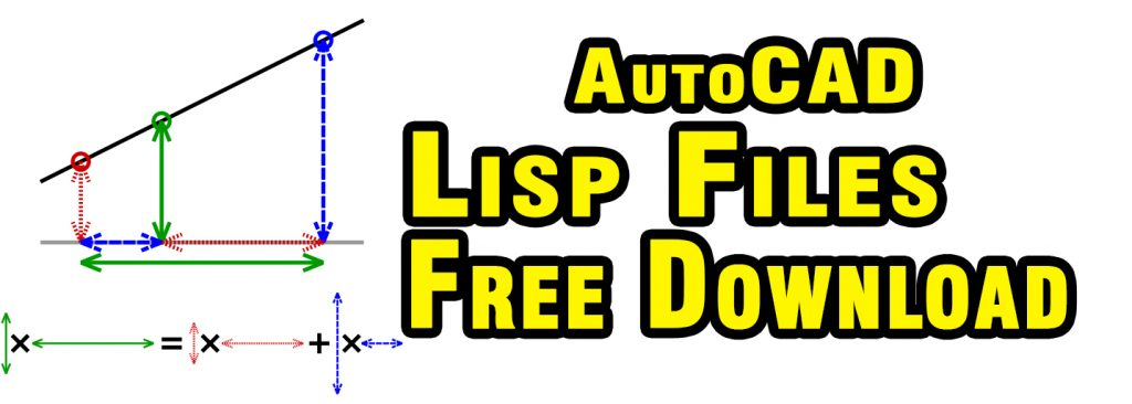 Download Free Lisp Files For Level Interpolation Slope and Grade