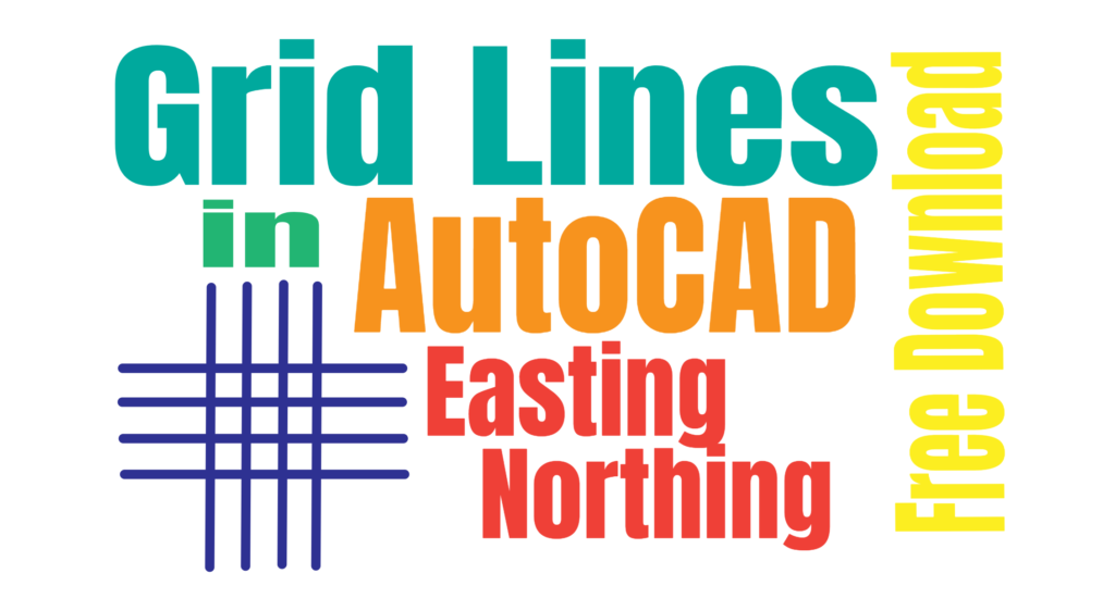 How to Draw Grid Lines in AutoCAD With Text – Coordinates Grid