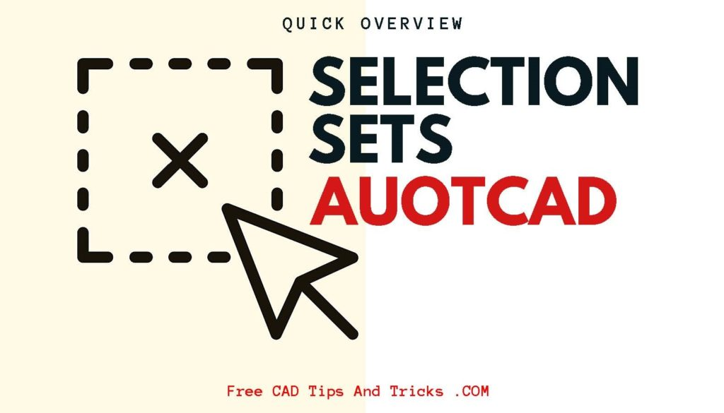 Selection Sets in AutoCAD | Options and Settings