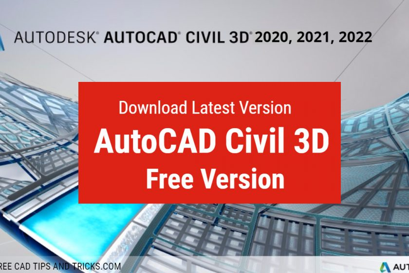 Download Civil 3D Latest Version for Free